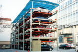 2 automobili Above Ground e 1 Car Parking in Pit