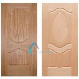 HDFシートが付いている普及した実質のSapelliの木製のベニヤ型のドアの皮