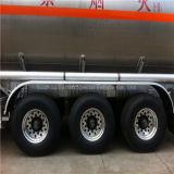 Tri-Axle 46000L Aluminum Alloy Tank Semi Trailer con 6 Tires