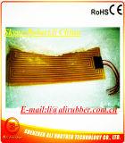calefator de faixa elétrico flexível de 60+60W 342*73mm 24V Polyimide