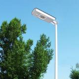10W-50W Solar LED Street Light Pátio e lâmpada de estrada