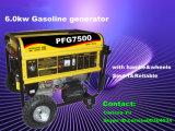 générateur portatif mobile de l'essence 6.0kw