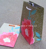 Logotipo promocional personalizado Logotipo impresso Sacola de papel barato Loja de compras
