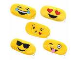 Супер мягкие случай карандаша Emoji/мешок