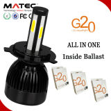 Linterna de G20 LED para la linterna lateral del coche LED de la pieza de automóvil 4 12V 24V H4 H7