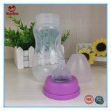 BPA liberano le bottiglie per il latte del bambino dei pp con il capezzolo