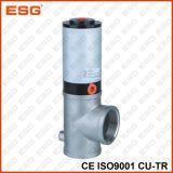 Tipo material da linha da válvula de dreno de Esg Ss