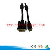 DVI Kabel-Mann zum Mann mit Außendurchmesser 6.0mm