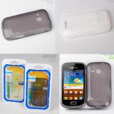 Cas de téléphone cellulaire en silicone pour Samsung S6500 Matériau TPU