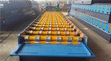 機械を形作る840/1050の台形シートの屋根ふきロール