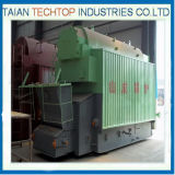 Caldeira de vapor para máquina de lavagem e máquina de enxaguamento