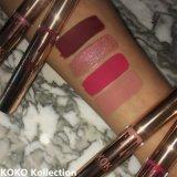 O mais novo Kylie Koko Kollection Lip Kit Golden Package Matte Liquid Lipstick Set 4PCS / Set