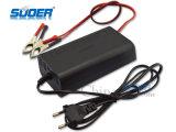 зарядное устройство с возможностью горячей замены Suoer продажи 8A Smart быстрое зарядное устройство с Трехфазный блок распределения питания 12 В режиме зарядки (сын-1208)