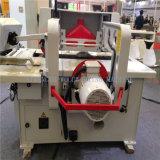 La garniture fonctionnante en bois professionnelle directe d'extrémité de ligne droite d'usine a vu la machine