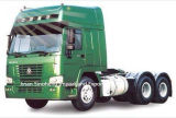 6X4 10wheelsを運転する340HP Sinotruk HOWOのトラクターのトラック