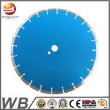 Lame de scie circulaire à diamant soudée au laser pour meulage par asphalte