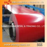 Vorgestrichen/Farbe beschichtete gewölbtes Dach-Fliese-Material des Stahl-ASTM PPGI/heißes/kaltgewalzt Roofing Stahlring