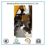油圧ステアリング車軸が付いている半60t三車軸Lowbedのトレーラー