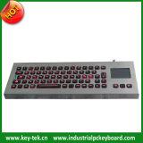 Industrieel zelfstandig bureautoetsenbord met stevig touchpad