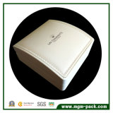 Couro Branco decorativas Caixa de jóias de plástico