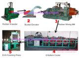 エヴァSheet Foaming Vulcanizing Press (エヴァSheetの生産Line)