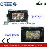 barre chiare del lavoro del punto LED dell'inondazione 20W per illuminazione di guida di veicoli della macchina
