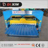 Dixinは鋼鉄タイプ波形鉄板の屋根ふき機械に電流を通した