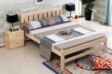 固体木のベッドの現代ダブル・ベッド(M-X2302)