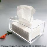 De nieuwe Container van de Doos van het Weefsel van het Servet van het Ontwerp Acryl