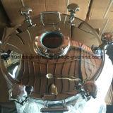Cubierta de la boca de inspección de la presión circular del tanque de Dn600 de la alta calidad para la abertura hacia fuera