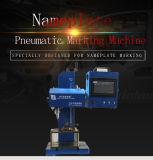 自由な出荷の中国の空気の点Pinの金属のネームプレートのマーキング機械