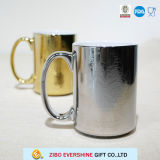 Tasse de café en céramique Electroplated de la coutume 16oz