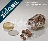 Frasco plástico do alimento para o recipiente desobstruído plástico Nuts