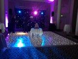 Pavilhão de dança LED Starlit em efeito de iluminação de palco para casamento