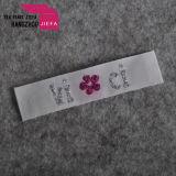 Etiquetas de tecido 100% poliéster personalizado