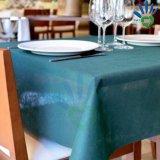커피용 탁자 덮개 &Table 피복을%s 다채로운 처분할 수 있는 짠것이 아닌 직물 사용