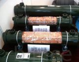 Trocador hidráulico de calor e cascalho