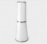 Rimozione di polvere cilindrica e conica della cartuccia di filtro dell'aria