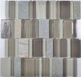 Mosaico mezclado del vidrio del color de la decoración de la pared