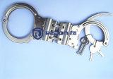Handcuffs van de Duim van de politie Bestand Roestvrije