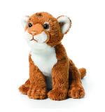 연약한 견면 벨벳 동물성 사자 소형 채워진 사자 장난감