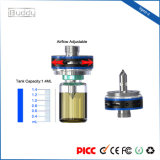 Atomizador ajustável Rda de Vape do fluxo de ar do Perfuração-Estilo do frasco de Vpro-Z 1.4ml