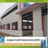 Bâtiment préfabriqué structural en acier Jdcc1021 d'entrepôt de coût bas et de qualité