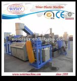 China Supplier Double Stage PP PE Film Compactor Plastic Granulator