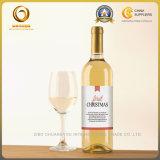 замороженная 750ml бутылка красного вина ясности украшения стеклянная (587)