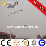 Iluminação solar pólo do diodo emissor de luz da estrada da rua da pintura antiferrugem
