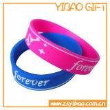 Wristband su ordinazione del silicone di marchio di stampa per i regali (YB-LY-WR-02)