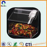 Transparent Produit acrylique Brosse Barrel Plexiglas Crayon Vase Acrylique