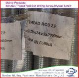 Amorçage brut Rod M12 amorçage blanc bleu de zinc de plein