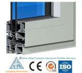 6061, 6.063 perfil de alumínio de extrusão para parede Cortina de vidro